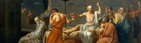 david Morte di Socrate