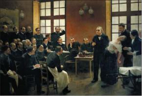 Lezione di Charcot sull'isteria
