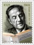 Francobollo che commemora Silvano Arieti (Pisa, 28 giugno 1914 – New York, 7 agosto 1981) nel 100º anniversario della nascita.